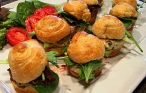 Chicken Sliders with Raspberry Mustard - 44th PBO