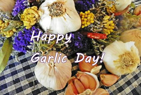 Happy Garlic Day