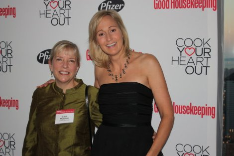 Beth at Good Housekeeping's Cook Your Heart Out in New York with Sara Moulton