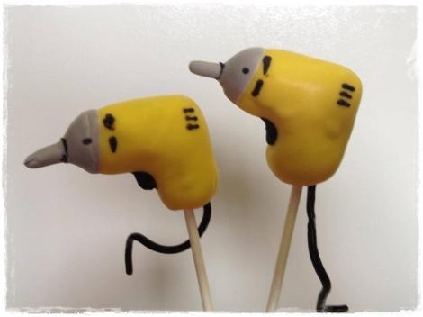 Handyman pops!