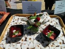 Renata's Roasted Garlic & Berry Gazpacho. The perfect balance of sweet and savory.