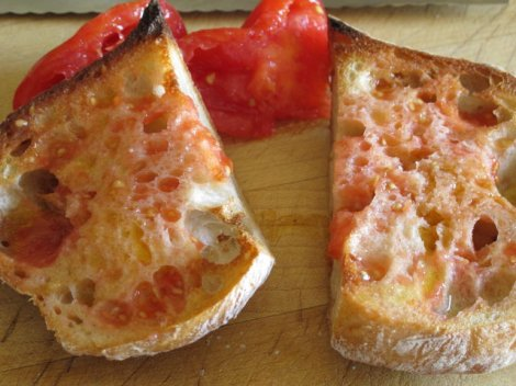 Tomato Garlic Bread