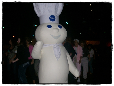 Two-Steppin' Doughboy at the 43rd Pillsbury Bake-Off